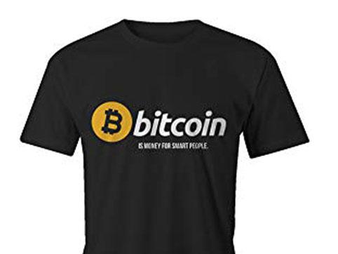 Camiseta Bitcoin Hombre