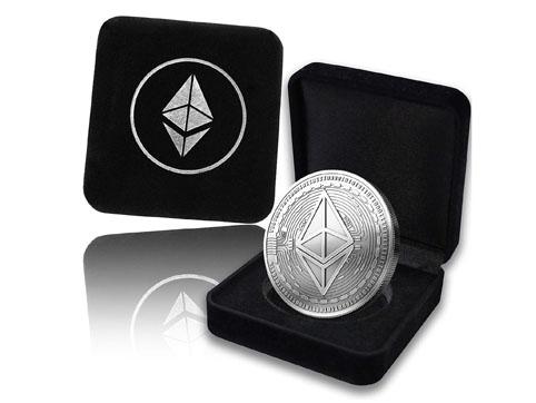 Ethereum moneda fisica